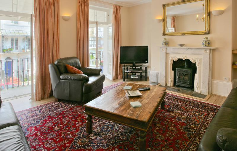 The sittingroom has a log burner, digital tv and iPod docking station, is comfortable and spacious