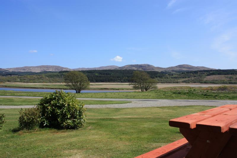 View from Lochead Chalet