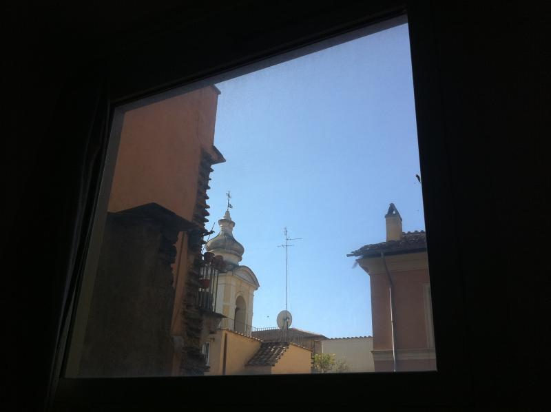 Santa Lucia del Gonfalone from bedroom window