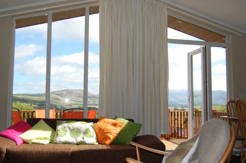 Lounge with incredible views towards Skiddaw