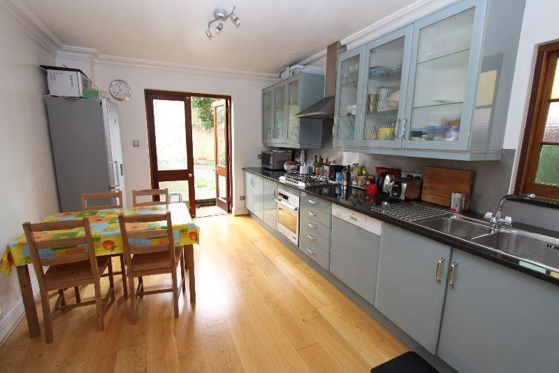Large Eat-in Kitchen leading out to the garden