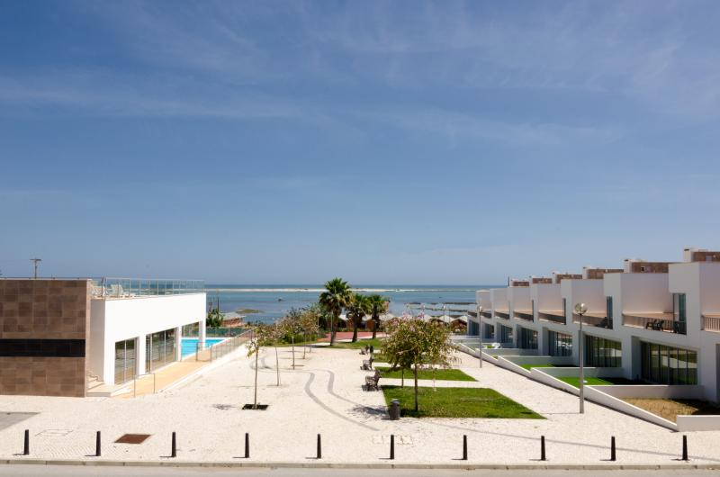 Magnificent view of the Ria Formosa from balcony
