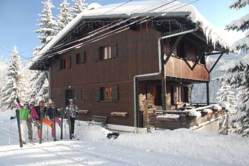 Ski Season 2013 Chalet La Penote from the Front