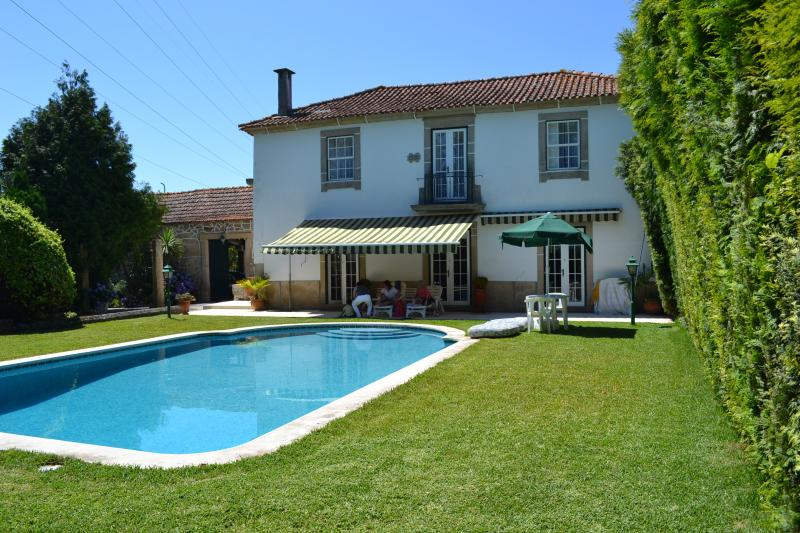 Guest house, pool and pool garden