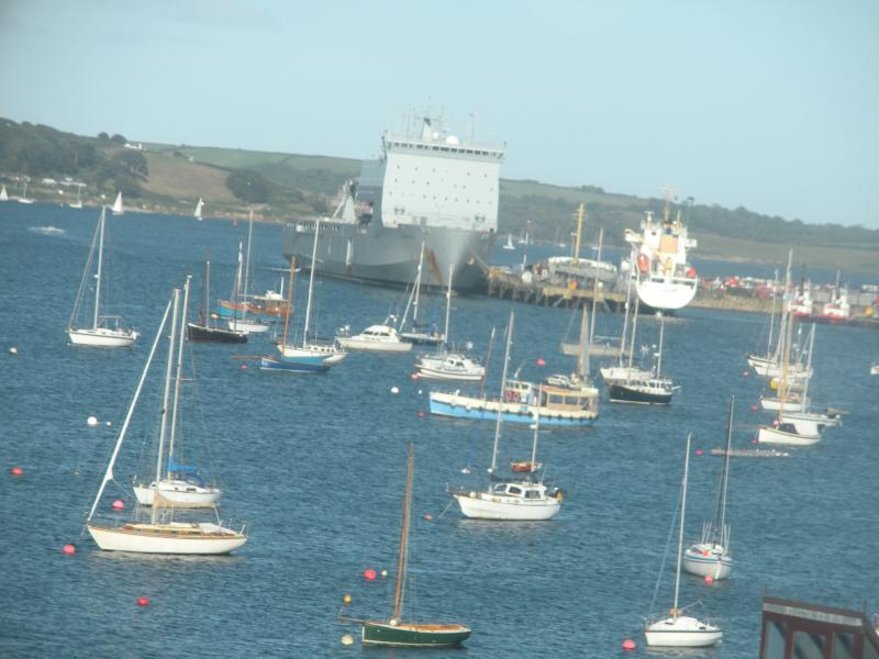 View of the harbour from Prince of Wales Pier