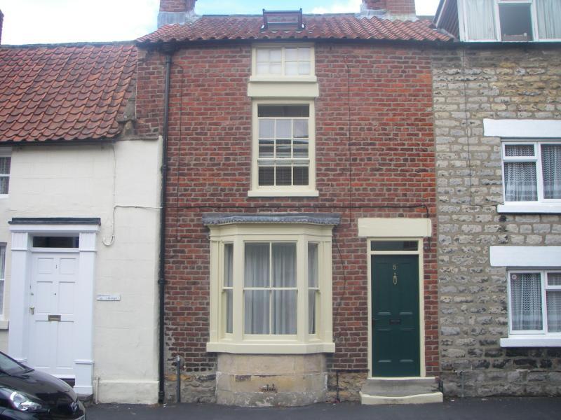 An 1860's town house with sash windows and beamed ceilings, full of character.