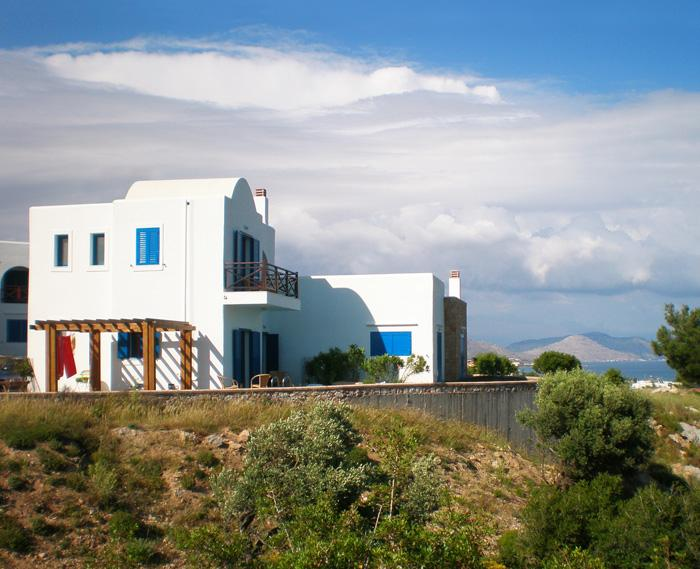 Beautiful Villa Maiya with its panoramic hillside setting.
