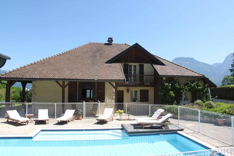 Secure private heated pool -  In the sun all day