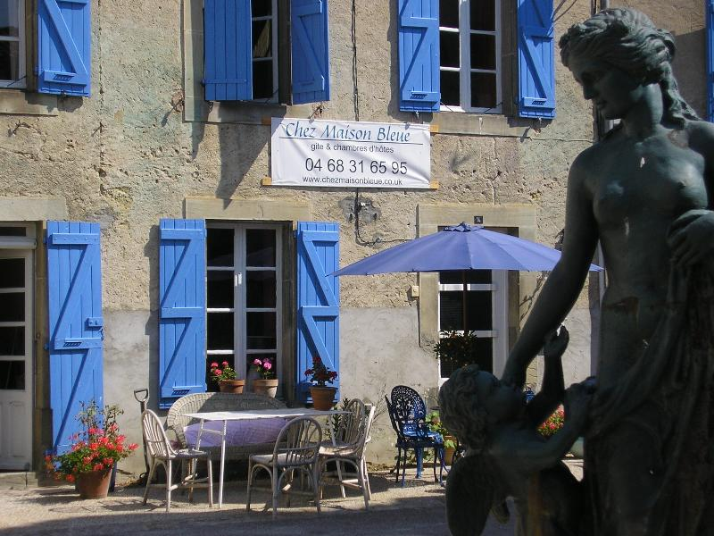 Holiday cottage & bed and breakfast in the hills south of Carcassonne