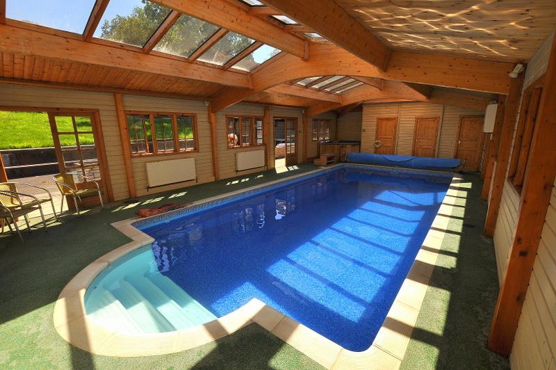 Indoor Swimming pool and hot tub facilities