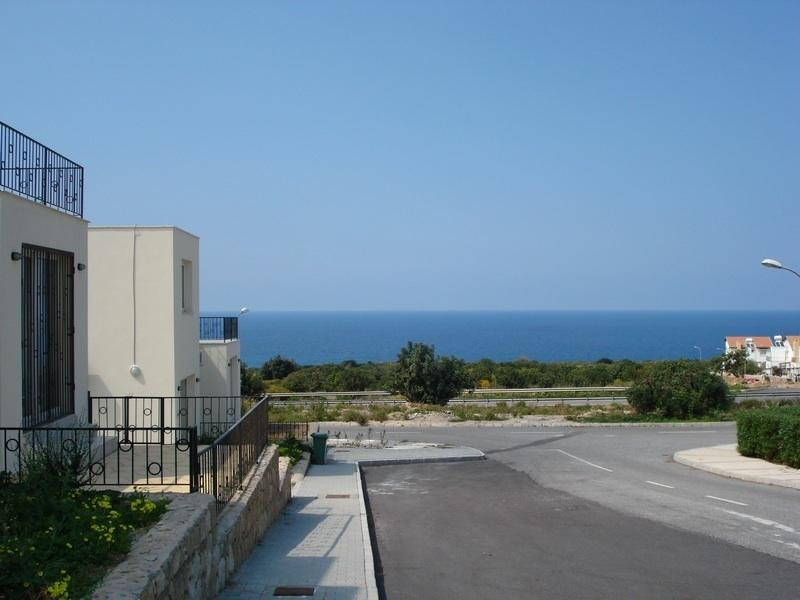 The Med from the terrace!
