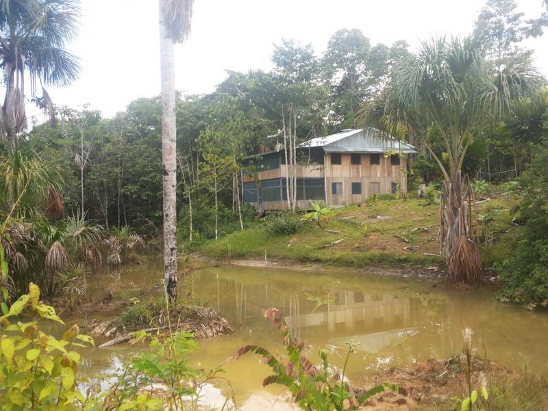 The House and first Laguna
