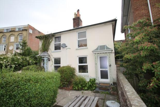 Front of Union Villas Cowes Isle of Wight