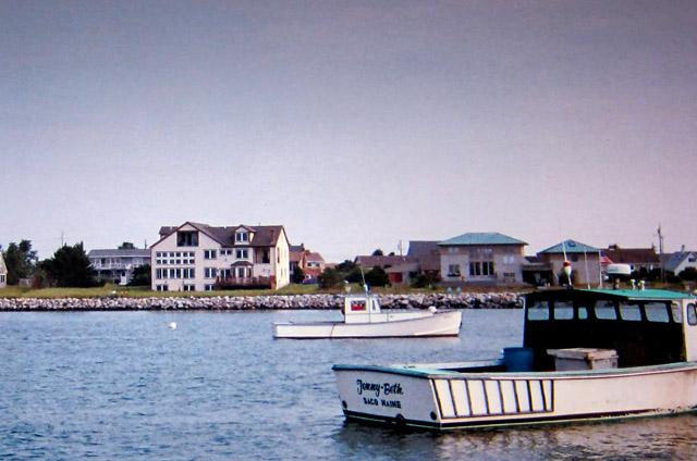 View of house from harbor