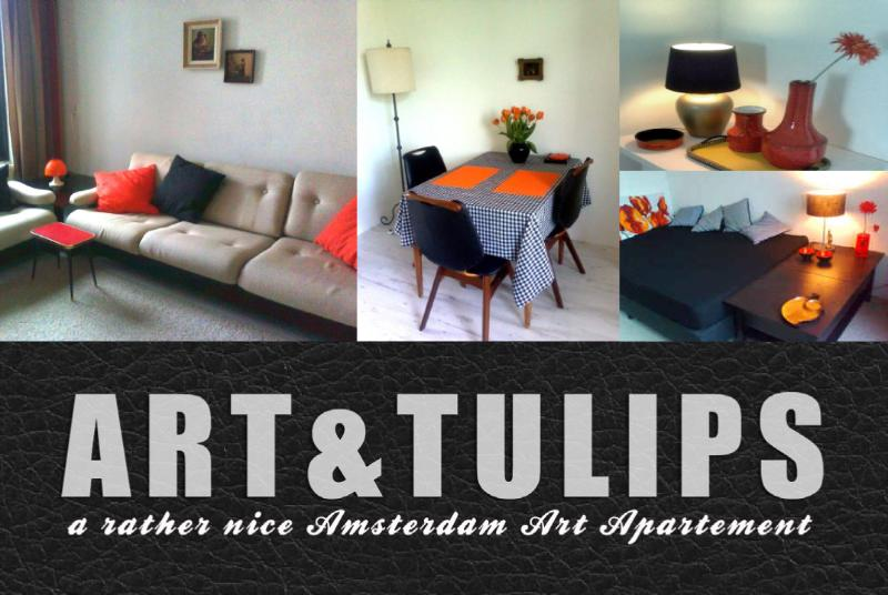 Art & Tulips, a rather nice Amsterdam Art Apartment