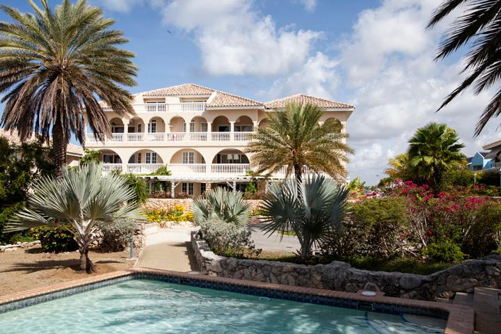 Curaçao Ocean Resort is a gated community with private pool and private beach