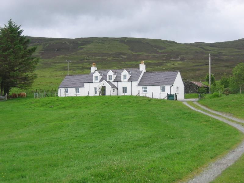 Glen Osdale is a great family home with sweeping views over the crofts of Borve.