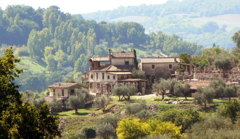 Il Borghetto set in the picturesque Umbrian countryside