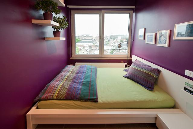 Our colourful & welcoming guest room