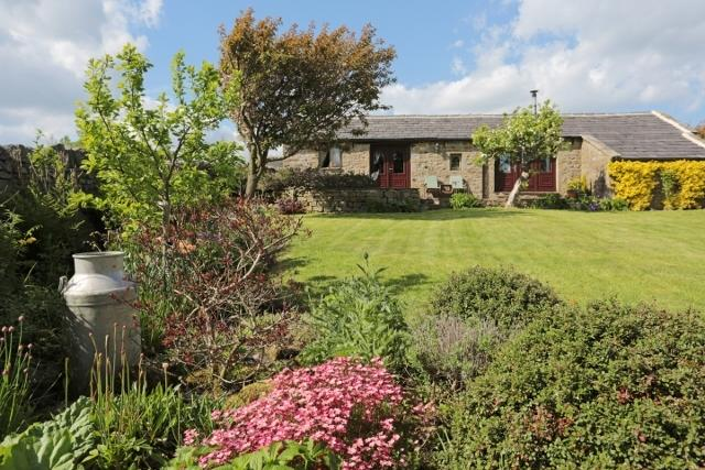 Beautiful cottage garden with panoramic views