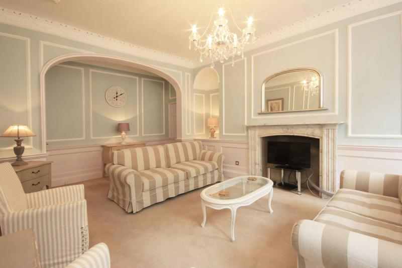 The beautiful drawing room