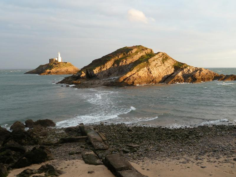 The area is called Mumbles after the famous lighthouse.