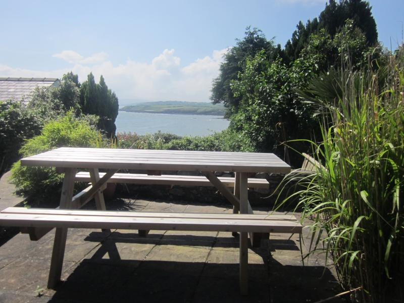 Perfect sea views from your own private south facing patio, sun from morning till dusk