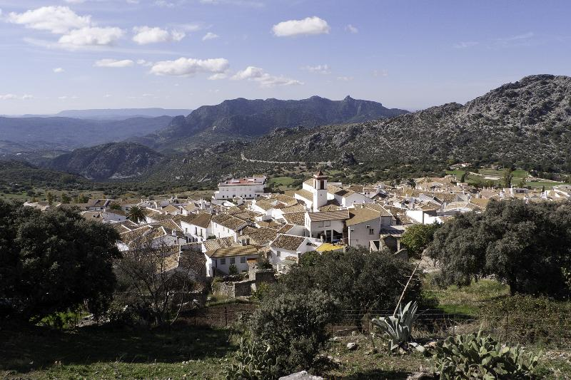 Benaocaz, one of the most beautiful white villages in the Sierra de Grazalema Natural Park