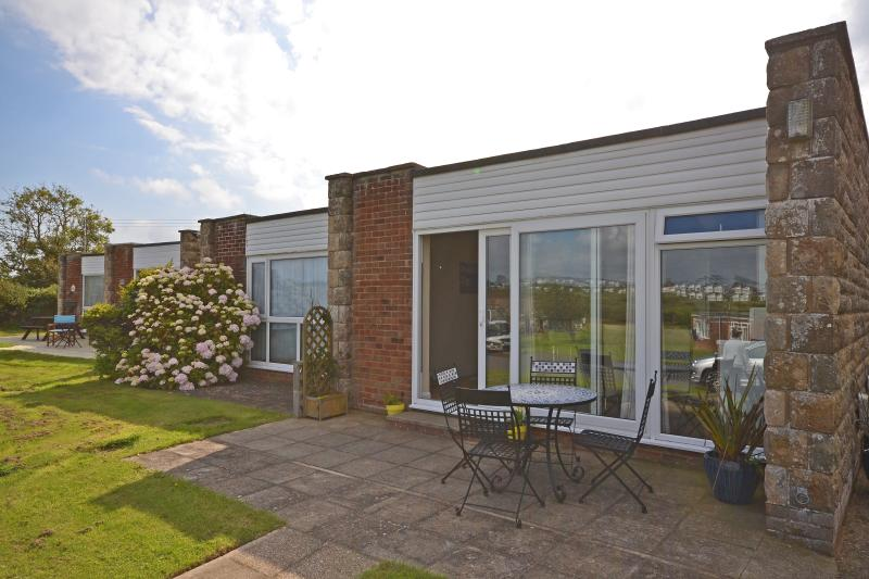 From the patio you have panoramic views across the sea & open countryside...great for relaxing...
