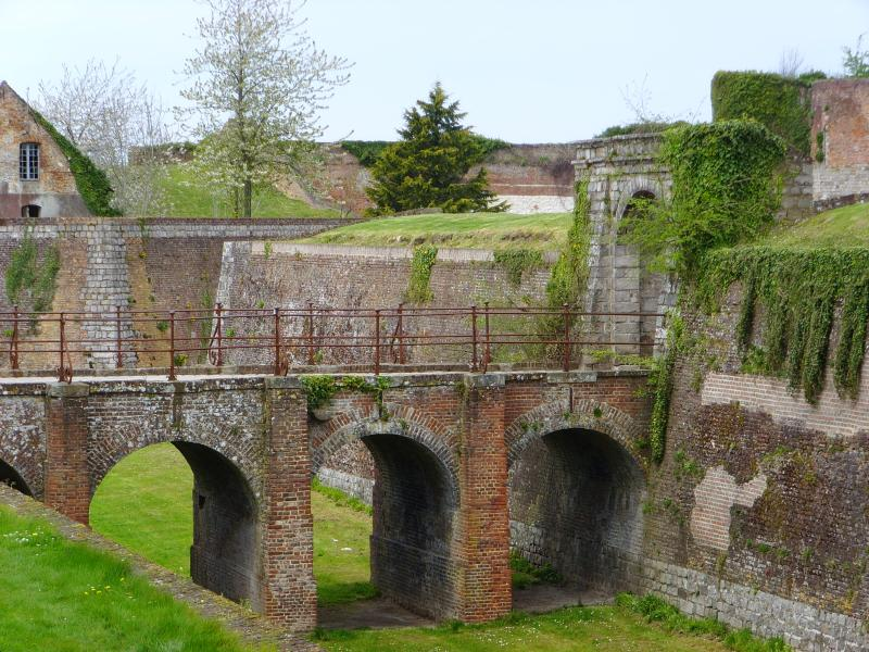The Ramparts at the end of the road