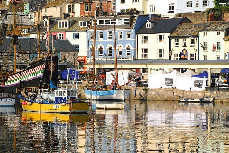 7 The Quay, situated on Brixham's harbourside