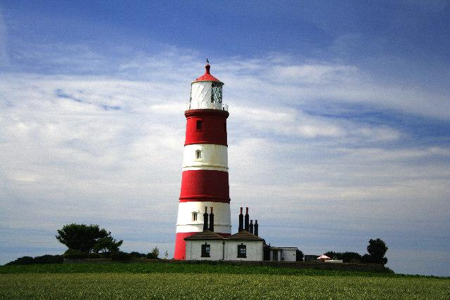 Happisburgh lighthouse and Cottage
