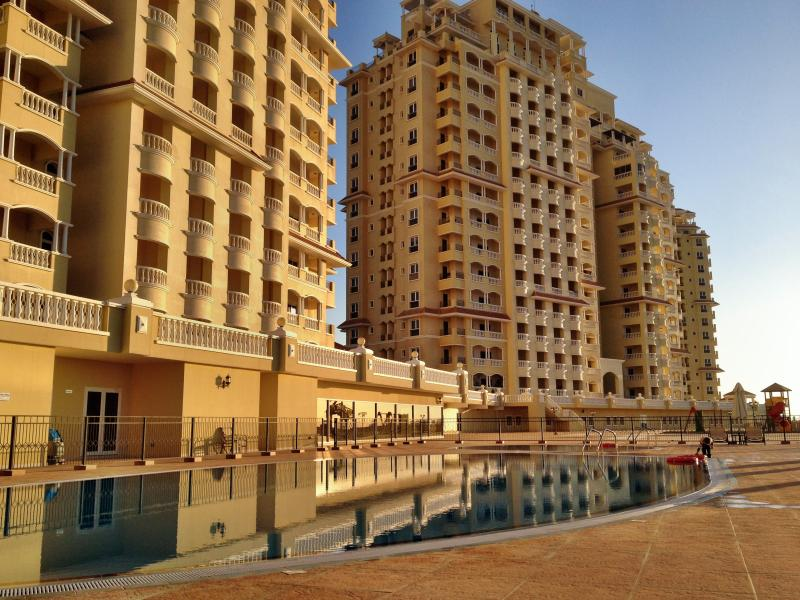 Royal Breeze buildings with heated/cooled pools (2 pools, adults and children)