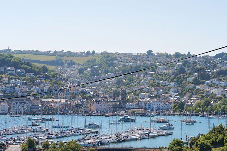 Kingswear and across to Dartmouth