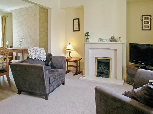 modern lounge for relaxing after a days sight seeing or walking . large flat screen T.V and  DVD