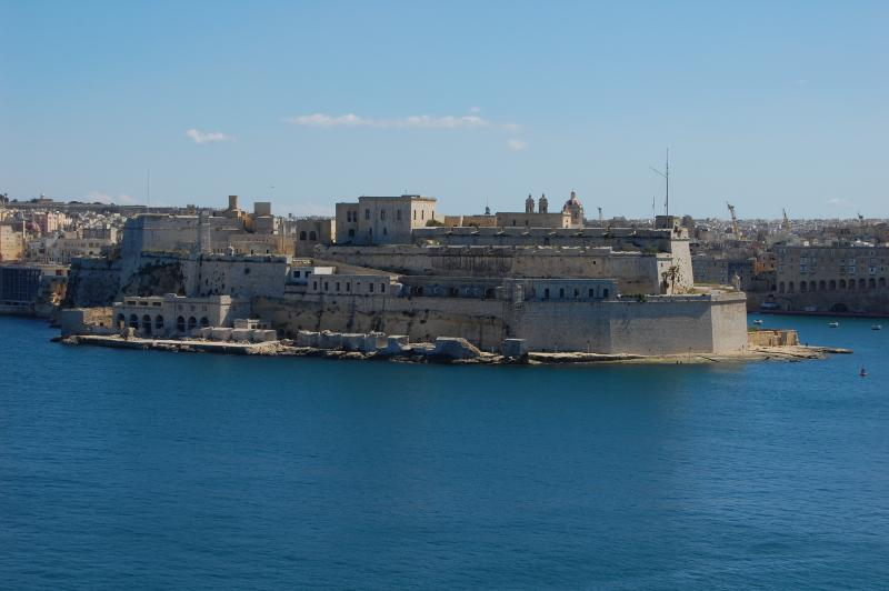 Fort St. Angelo from the Terrace