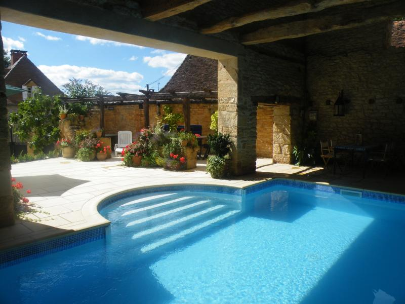 Enjoy your own private heated pool!