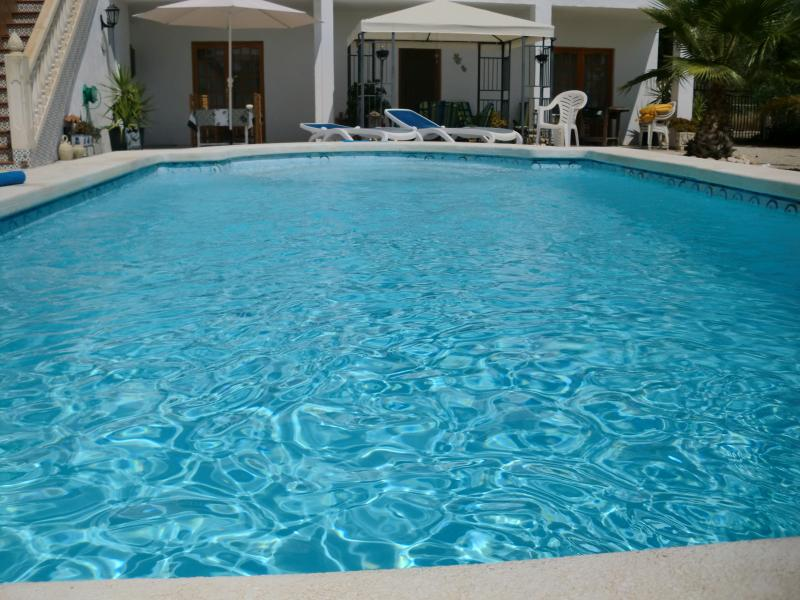private ,guests only pool,