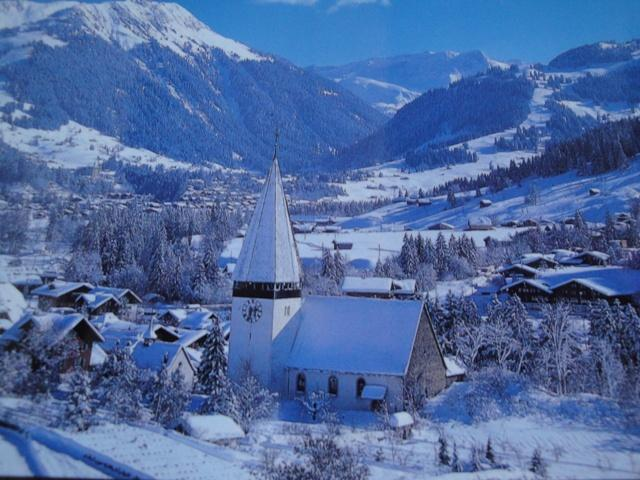 Gstaad region in winter