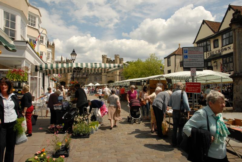 Wells Market, every Wednesday and Saturday