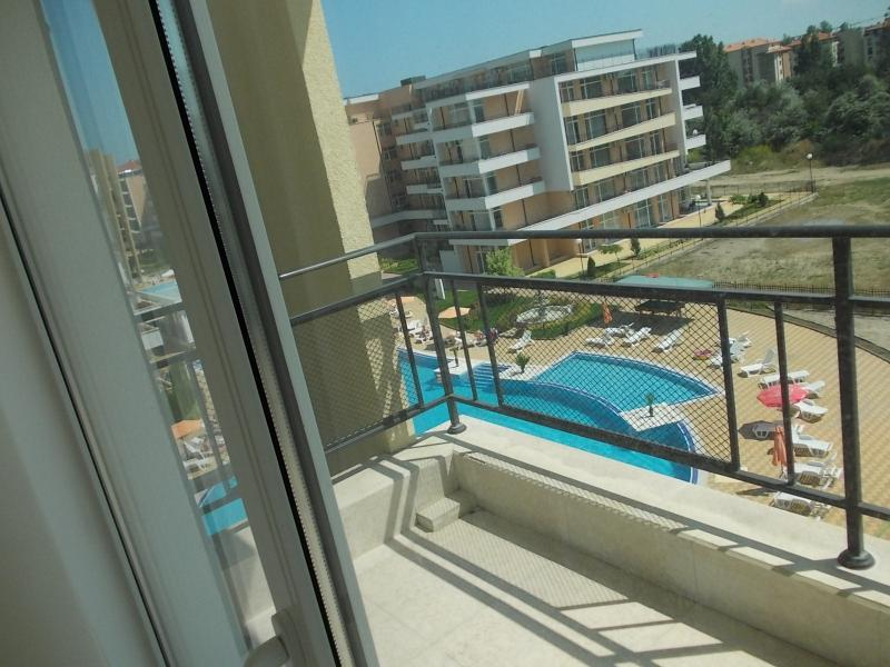 Swimming pool view from terrace