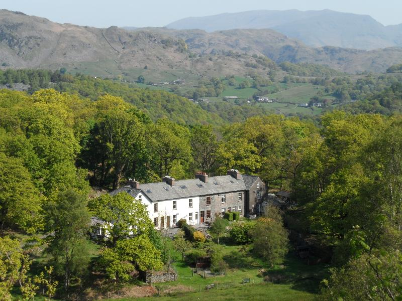 Acorn Cottage nestled between two valleys - take your pick of walks/bike rides