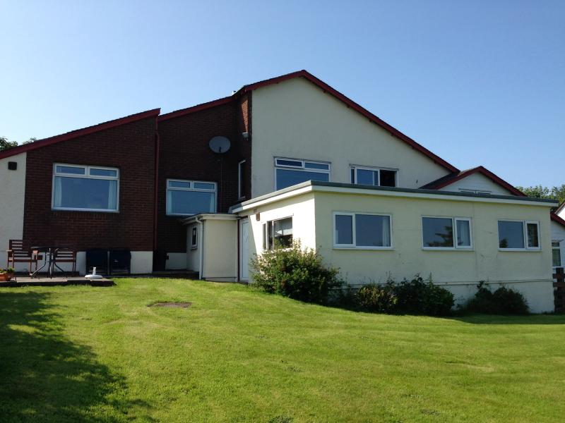 Raraig House Self Catering sitting in one acre of private open ground