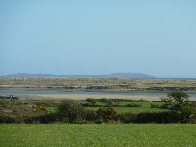 Our view across to The Saltees on a beautiful clear day