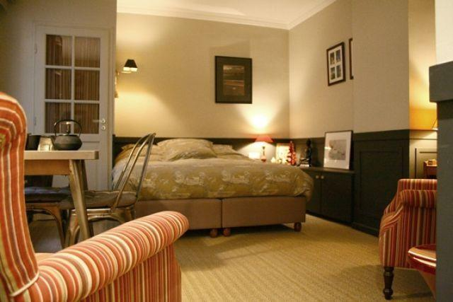 Main room. King size bed: 1,60m