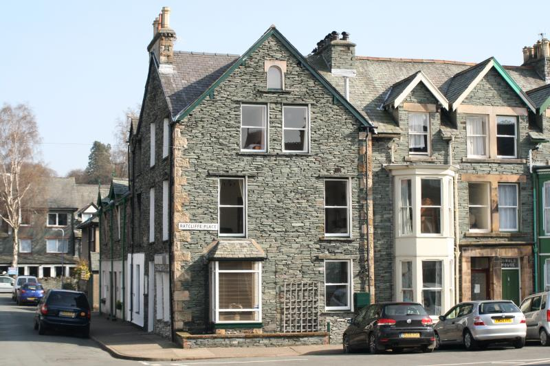 Ashness House on the corner of Ratcliffe Place and Church Street
