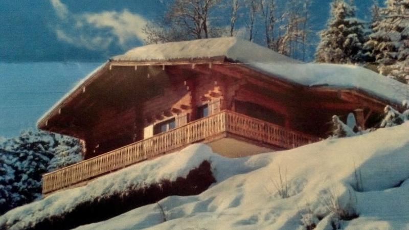 Situated in a 'winter wonderland'