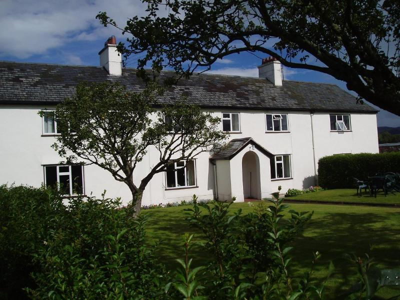 stay in part of the farmhouse