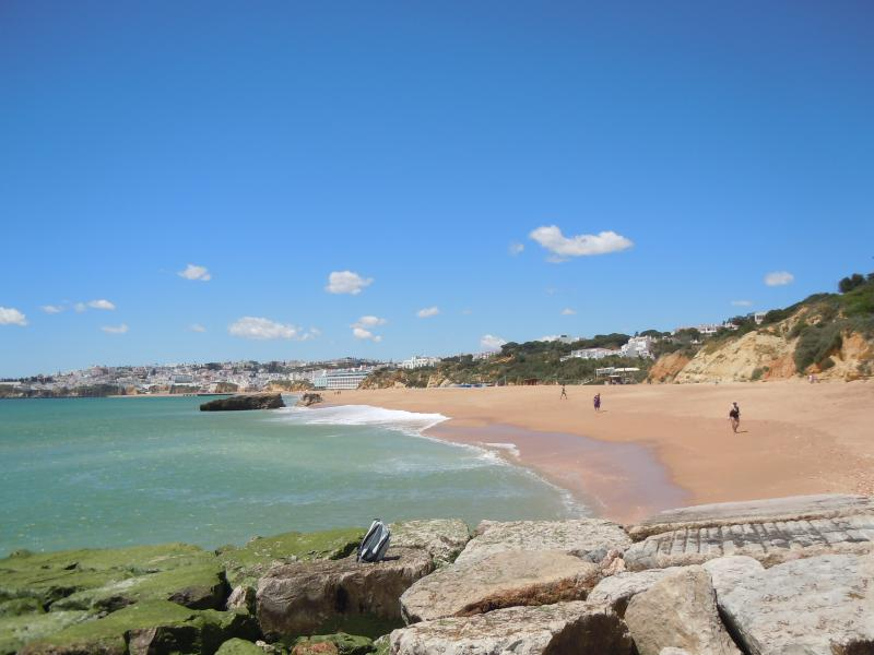 Albufeira beach just 200 metres from the apartment, all amenities within easy walking distance