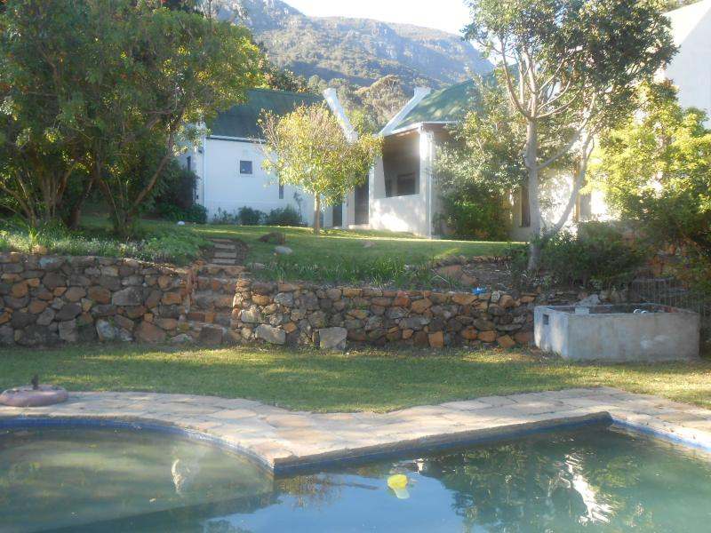 Comfortable family home on large indigenous garden with beautiful secluded 12 m pool